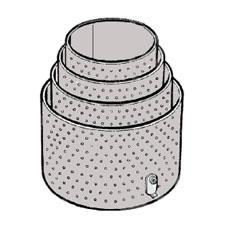 Rayburn Burner Shell Set