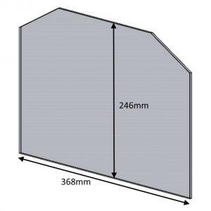 Single Door Glass Parkray Consort 7 & 5 Slim