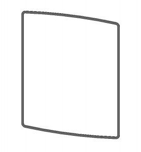 Parkray Aspect 5 Glass Gasket