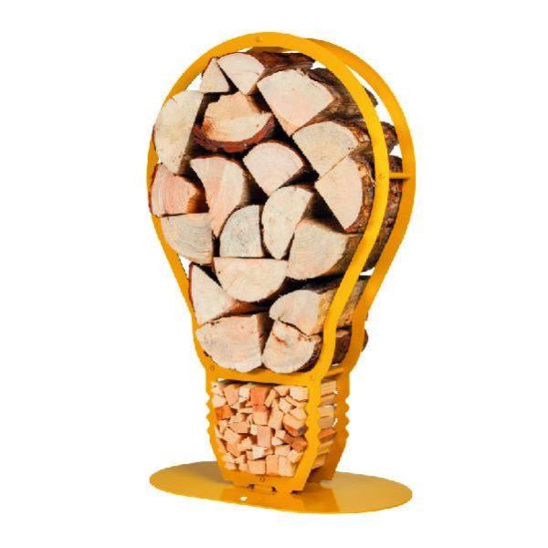 Lightbulb Log Holder