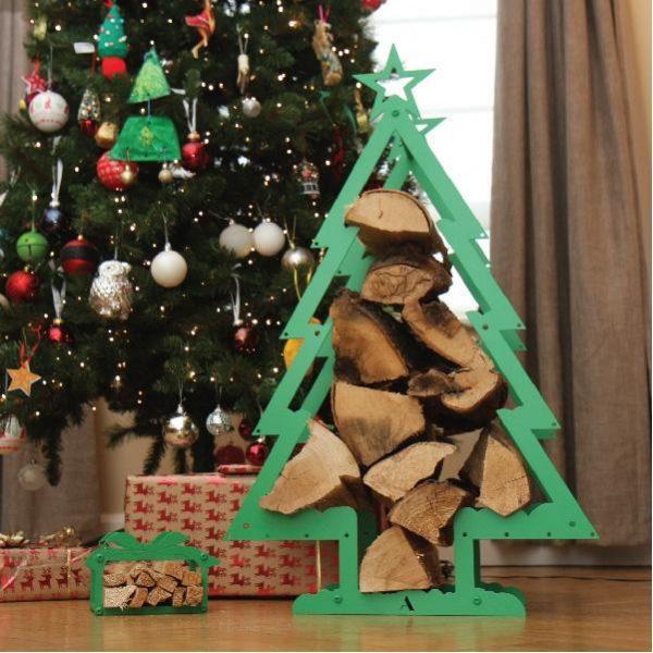 Christmas Tree Log Holder