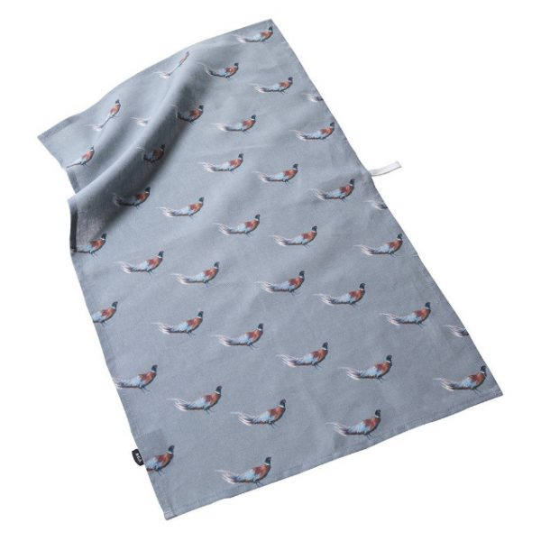AGA Pheasant Tea Towel