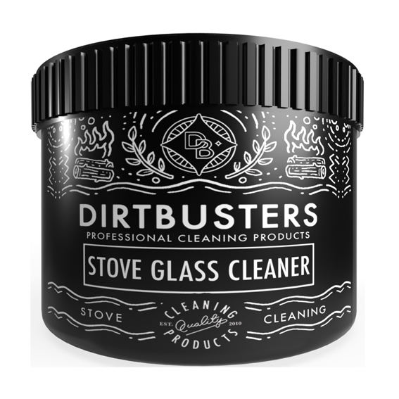 Dirtbusters Stove Glass Cleaning Paste.