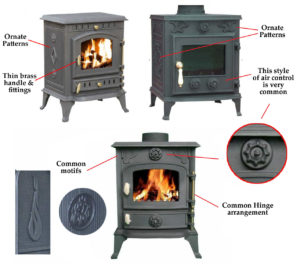 How to spot a Chinese Stove